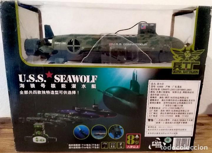 Radio Control: Submarino Nuclear 6 canales 35cm Radio control maqueta guerra modelismos maqueta militar - Foto 4 - 262145065