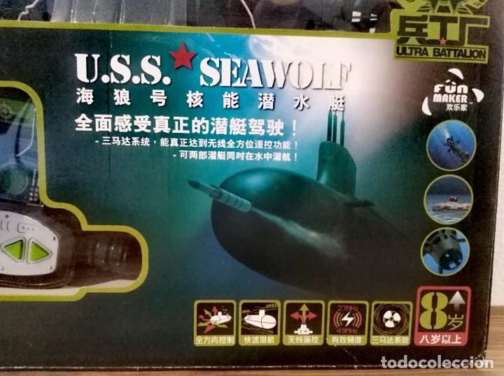 Radio Control: Submarino Nuclear 6 canales 35cm Radio control maqueta guerra modelismos maqueta militar - Foto 13 - 262145065