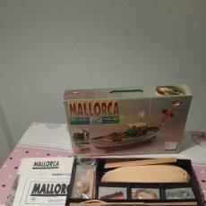 Radio Control: KIT DE MADERA BARCO DE PESCA MALLORCA-CONSTRUCTO,MODELISMO NAVAL.. Lote 267393904