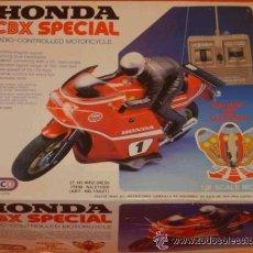 Radio Control: MOTO HONDA CBX SPECIAL EINCO YONEZAWA RADIO CONTROL AÑOS 80 VINTAGE. Lote 25801292