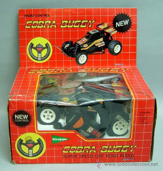 Radio Control: Cobra Buggy radio control el corte ingles Rbocom años 90 - Foto 2 - 23093252