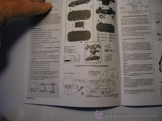 Radio Control: Instrucciones de colocación de pilas. - Foto 25 - 27336887