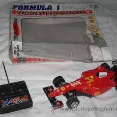 Radio Control: FORMULA 1 RADIO CONTROL ESCALA 1:18, MADE IN CHINA. Lote 26453102