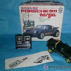 Radio Control: TAIYO PORSCHE 911 TARGA R/C TELEDIRIGIDO COMPLETO AÑOS 80. Lote 27648655