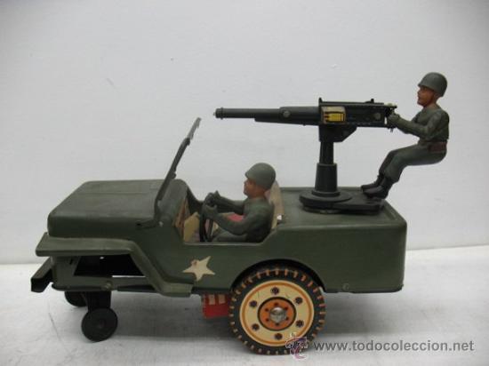 JEEP AMERICANO -ARMY- CON AMETRALLADORA. (Juguetes - Modelismo y Radiocontrol - Radiocontrol - Coches y Motos)