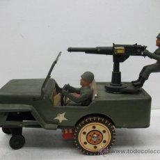 Radio Control: JEEP AMERICANO -ARMY- CON AMETRALLADORA.. Lote 29431283