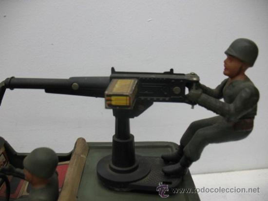 Radio Control: jeep americano -army- con ametralladora. - Foto 2 - 29431283