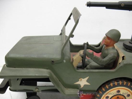 Radio Control: jeep americano -army- con ametralladora. - Foto 3 - 29431283