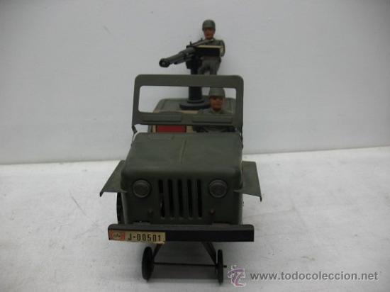 Radio Control: jeep americano -army- con ametralladora. - Foto 4 - 29431283