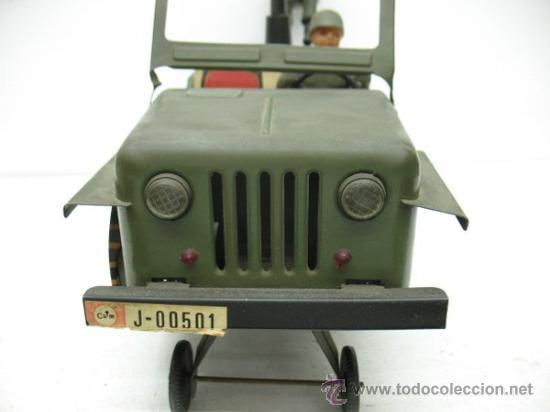 Radio Control: jeep americano -army- con ametralladora. - Foto 7 - 29431283