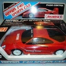 Radio Control: RADIOCONTROL FERRARI F40 SPORT CARS DE JOUSTRA.. Lote 31659575