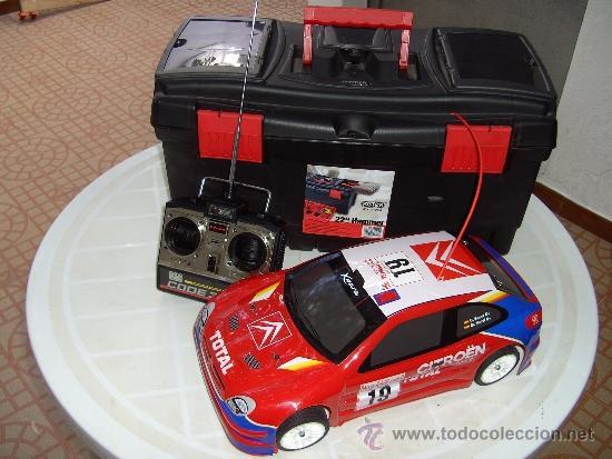 CITROEN XSARA WRC ESCALA 1/10 (Juguetes - Modelismo y Radiocontrol - Radiocontrol - Coches y Motos)