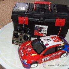 Radio Control: CITROEN XSARA WRC ESCALA 1/10. Lote 32820898
