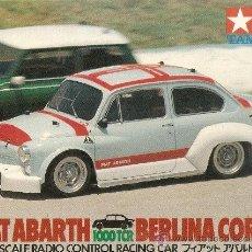 Radio Control: COCHE SEAT 600 - FIAT ABARTH 1000 TC RADIO CONTROL. Lote 33587795