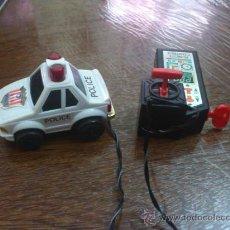 Radio Control: COCHE POLICIA RADIO CONTROL CABLE. Lote 33803909