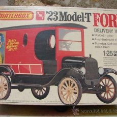 Radio Control: FORD T 23 - MACTCHBOX - DELIVERY VAN DE BUDWEISER 100TH ANIVERSARY - ESCAL.1/25. Lote 35335525