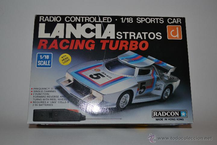 Radio Control: Coche radiocontrol RADCON LANCIA STRATOS AÑOS 70 - Foto 2 - 41676764