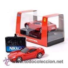 Radio Control: FERRARI 599 GTB DE NIKKO A RADIO CONTROL 1/32 (PRODUCTO OFICIAL FERRARI NUEVO A ESTRENAR). Lote 41847306