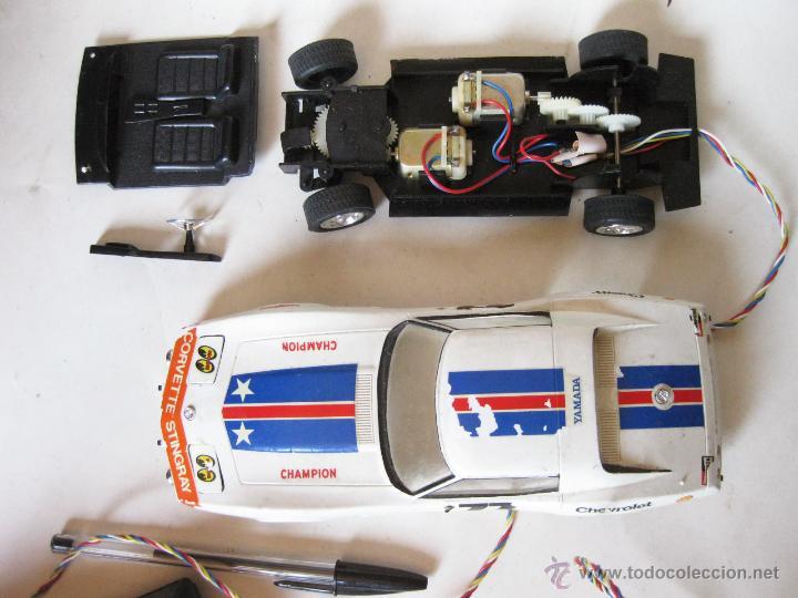 Radio Control: MAQUETA DEL AUTOMOVIL CORVETTE STINGRAY - YAMADA MOKEY - CONTROL REMOTO - Foto 4 - 42711645