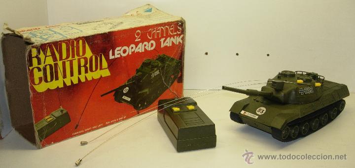 Radio Control: Antiguo tanque radio control RC GERMAN LEOPARD TANK escala 1/32 Oceanic Japan 1978 - Foto 3 - 44704684