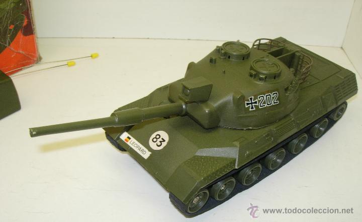 antiguo tanque radio control rc german leopard kaufen. Black Bedroom Furniture Sets. Home Design Ideas