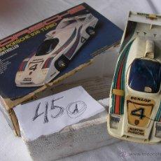 Radio Control: ANTIGUO Y ESPECTACULAR PORSCHE MARTINI TURBO 936 RADIO CONTROL GRANDE EN SU CAJA. Lote 199182537