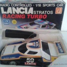 Radio Control: COCHE RADIO CONTROL LANCIA STRATOS RACING TURBO. CON LUZ (2 FUNCIONES) 25 CMS. DE LARGO. Lote 47842793