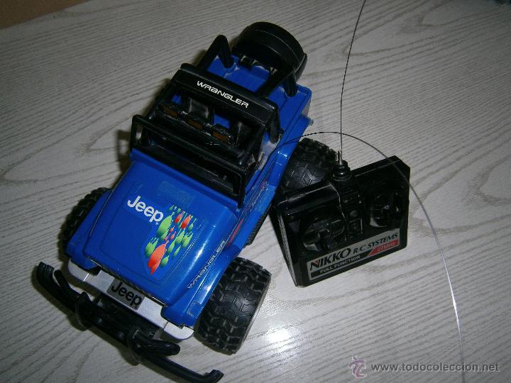 Radio Control: NIKKO - JEEP WRANGLER - COCHE DE RADIO CONTROL - TELEDIRIGIDO. - Foto 3 - 47943511