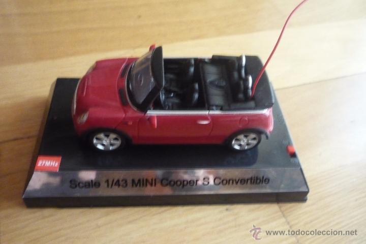 MINI COOPER S SCALE 1/43.RADIO CONTROL. NUEVO (Juguetes - Modelismo y Radiocontrol - Radiocontrol - Coches y Motos)