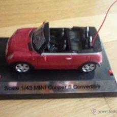 Radio Control: MINI COOPER S SCALE 1/43.RADIO CONTROL. NUEVO. Lote 51030006