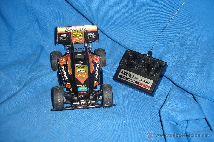 COCHE CON RADIO CONTROL NIKKO SUPER BUGGY 58 - FUNCIONA (Juguetes - Modelismo y Radiocontrol - Radiocontrol - Coches y Motos)