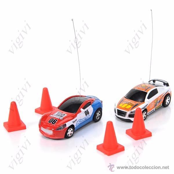 Radio Control: MINI COCHE TELEDIRIGIDO RADIOCONTROL RC CAR RACING-Mini High Speed RC Car Racing - Foto 5 - 75931026