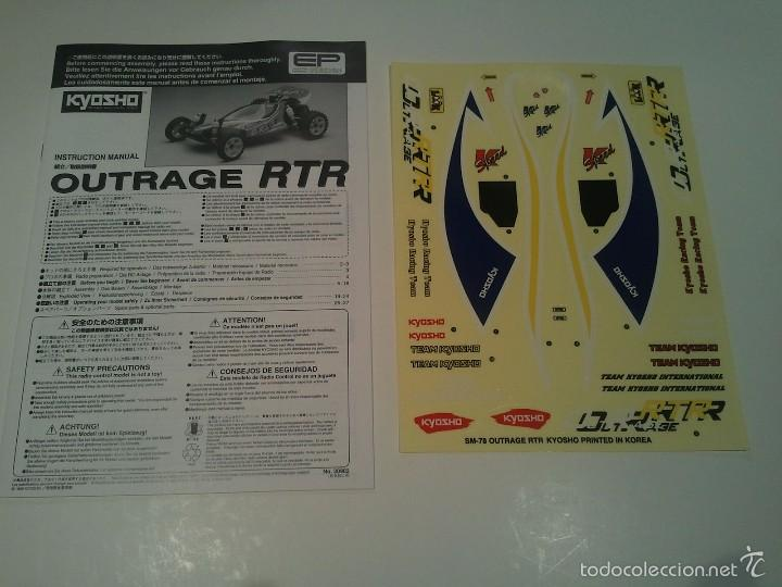 Radio Control: Coche Kyosho Outrage 1/10 T.T. Electrico - Foto 4 - 55814703
