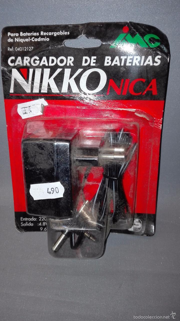 18- NIKKO NICA CARGADOR DE BATERIAS NIQUEL/CADMIO REF 04012127 NUEVO (Juguetes - Modelismo y Radiocontrol - Radiocontrol - Coches y Motos)