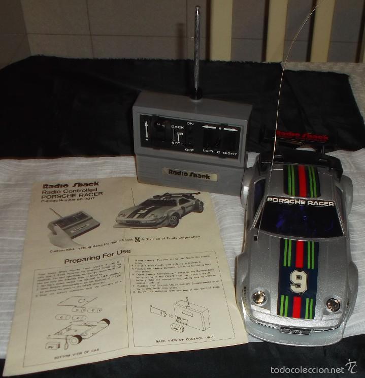 COCHE RADIO CONTROL TANDY 928 (RADIO SHACK AÑO 1980) PORCHE (Juguetes - Modelismo y Radiocontrol - Radiocontrol - Coches y Motos)