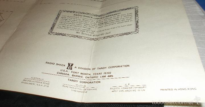 Radio Control: coche radio control Tandy 928 (Radio Shack año 1980) Porche - Foto 2 - 58349907