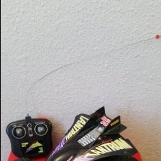 Radio Control: ANTIGUO COCHE RC RADIO CONTROL TYCO TANTRUM TURBO 6 V JET MAXIMUM HEAT BUGGY. Lote 59606691