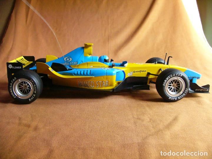 Radio Control: Coche carreras Radiocontrol F1 Formula 1 Renault Renovate 1:8 escala Race King 727 Fernando Alonso - Foto 3 - 143670952