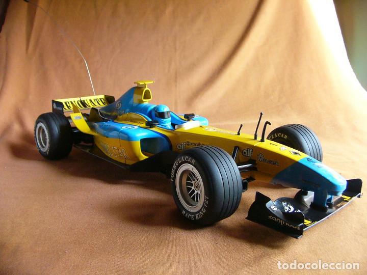 Radio Control: Coche carreras Radiocontrol F1 Formula 1 Renault Renovate 1:8 escala Race King 727 Fernando Alonso - Foto 4 - 143670952