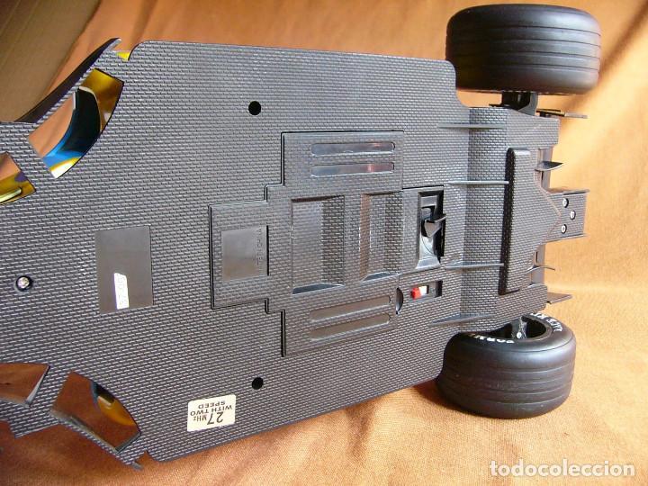 Radio Control: Coche carreras Radiocontrol F1 Formula 1 Renault Renovate 1:8 escala Race King 727 Fernando Alonso - Foto 7 - 143670952