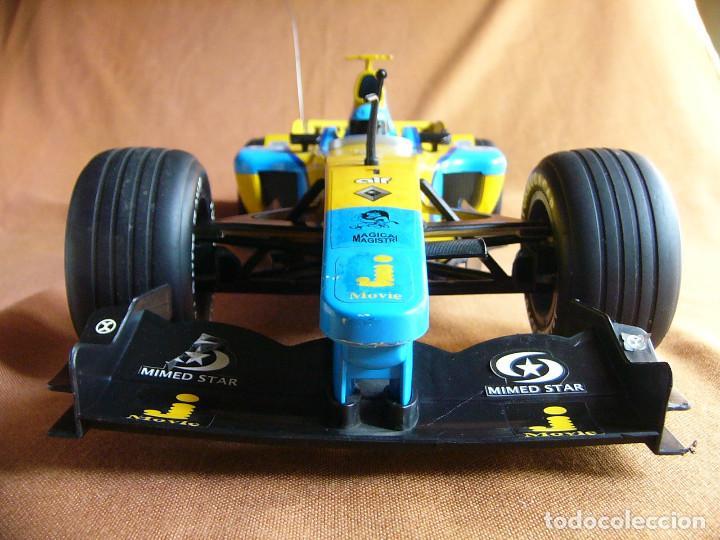 Radio Control: Coche carreras Radiocontrol F1 Formula 1 Renault Renovate 1:8 escala Race King 727 Fernando Alonso - Foto 10 - 143670952