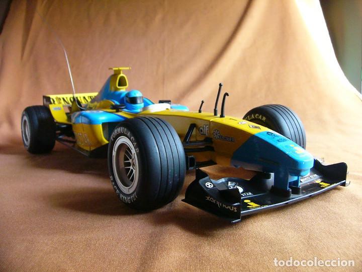 Radio Control: Coche carreras Radiocontrol F1 Formula 1 Renault Renovate 1:8 escala Race King 727 Fernando Alonso - Foto 11 - 143670952