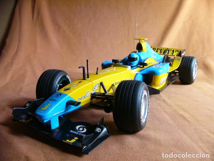 Radio Control: Coche carreras Radiocontrol F1 Formula 1 Renault Renovate 1:8 escala Race King 727 Fernando Alonso - Foto 12 - 143670952