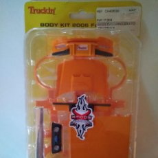 Radio Control: KIT CARROCERÍA CARSON MODEL SPORT XMODS EVOLUTION FORD F-150 NARANJA. Lote 68576865