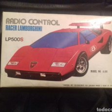 Radio Control: CAJA LAMBORGHINI RADIO CONTROL AÑOS 80. Lote 71854753