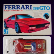 Radio Control: COCHE FERRARI 288 GTO. GREAT POWER. RADIO CONTROLLED. ESCALA 1:24. EN SU CAJA ORIGINAL. SIN USAR.. Lote 76721075