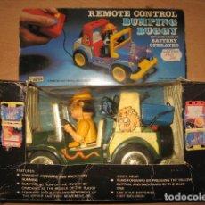 Radio Control: BUMPING BUGGY REMOTE CONTROL DE BOTOY AÑO 1982 HONG KONG MUY RARO. Lote 80272249