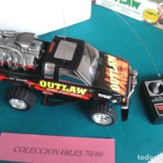 Radio Control: COCHE RADIO CONTROL TYCO OUTLAW POWER BOOST ENGINE TODO TERRENO DESCATALOGADO. Lote 86341628