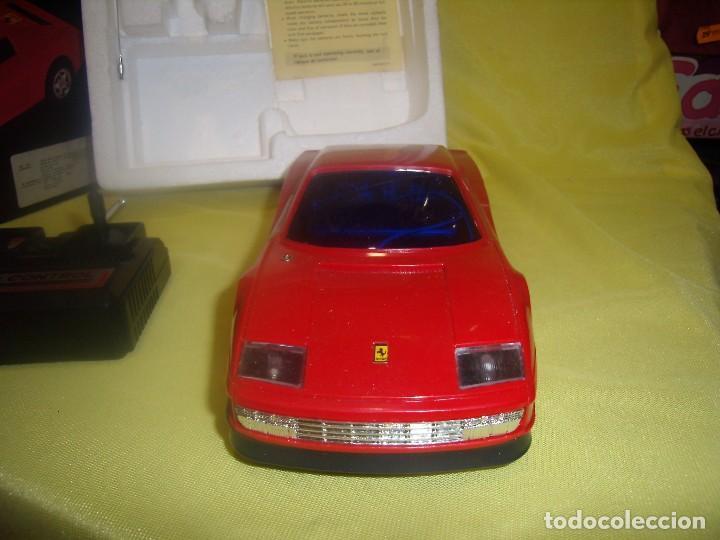 Radio Control: Ferrari Testarossa Radio Control, años 80, escala 1/18, funcionando, Nuevo. - Foto 3 - 90358516