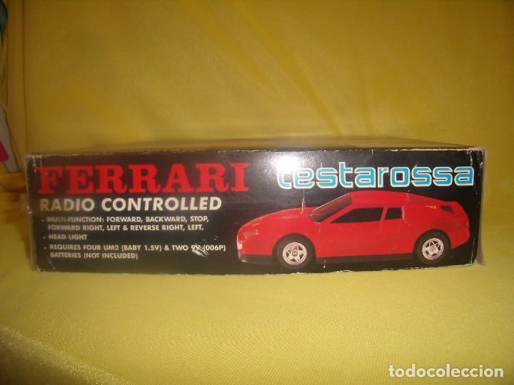Radio Control: Ferrari Testarossa Radio Control, años 80, escala 1/18, funcionando, Nuevo. - Foto 7 - 90358516